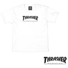 【THRASHER/スラッシャー】TODDLER SK8 MAG T-SHIRT  幼児用Tシャツ / WHT