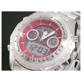 AVIREX アヴィレックス 腕時計 アナデジ メンズ AX-017M-4