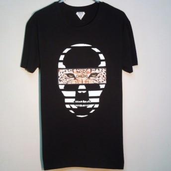 Skull Panther T-shirt  Black