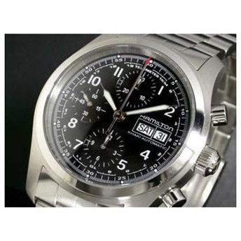 HAMILTON ハミルトン カーキ フィールド オート クロノ 腕時計 H71516137