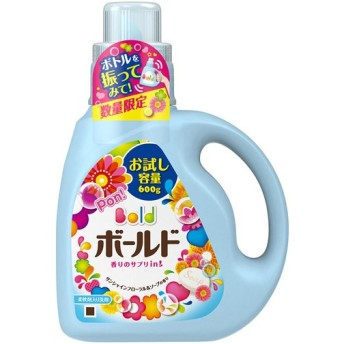 ボールド 香りのサプリインジェル サンシャインフローラル&ソープの香り 本体 お試し容量 600g P&G(プロクター・アンド・ギャンブル) 代引不可