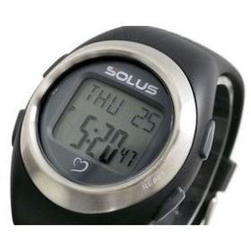 SOLUS ソーラス 腕時計 デジタル 心拍計測機能付き 01-800-01