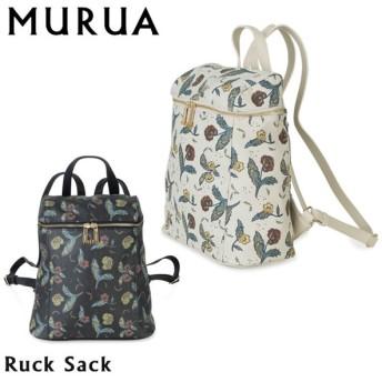 ムルーア MURUA リュック MR-B504 フラワー  レディース  [PO5]