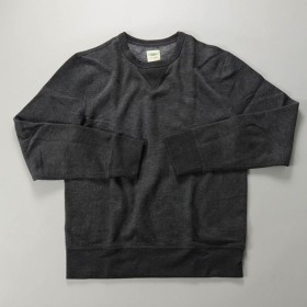 J.CREW / ジェイクルー / 60/40フリーススウェットシャツ / ブラック
