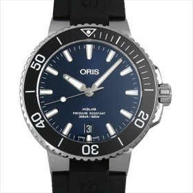 48回払いまで無金利 オリス アクイス デイト 733 7732 4135RBK 新品 メンズ 腕時計