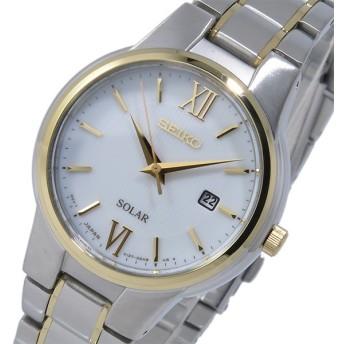 セイコー ソーラーパワーリザーブ クオーツ レディース 腕時計 SUT230P1 ホワイト