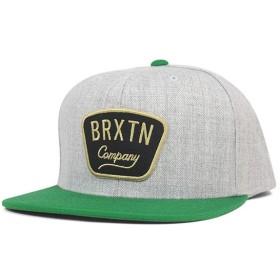 ブリクストン スナップバックキャップ ガストン ヘザーグレー 帽子