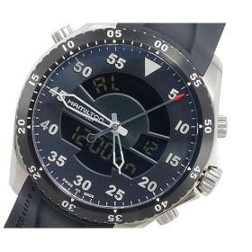 ハミルトン HAMILTON カーキ フライト タイマー アナデジ メンズ 腕時計 H64554331