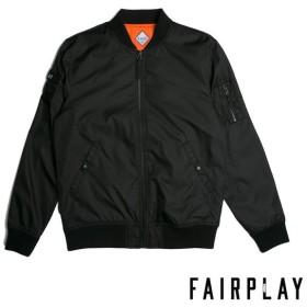 【FAIRPLAY BRAND/フェアプレイブランド】BRAEDEN ボンバージャケット / BLACK