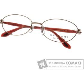 BVLGARI ブルガリ 2140T 4025 53口16 135 度なし 眼鏡 チタン レディース 中古