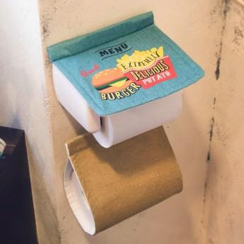 Cozydoors ペーパーホルダーカバー Burgershop ( トイレ ホルダーカバー トイレ用品 )