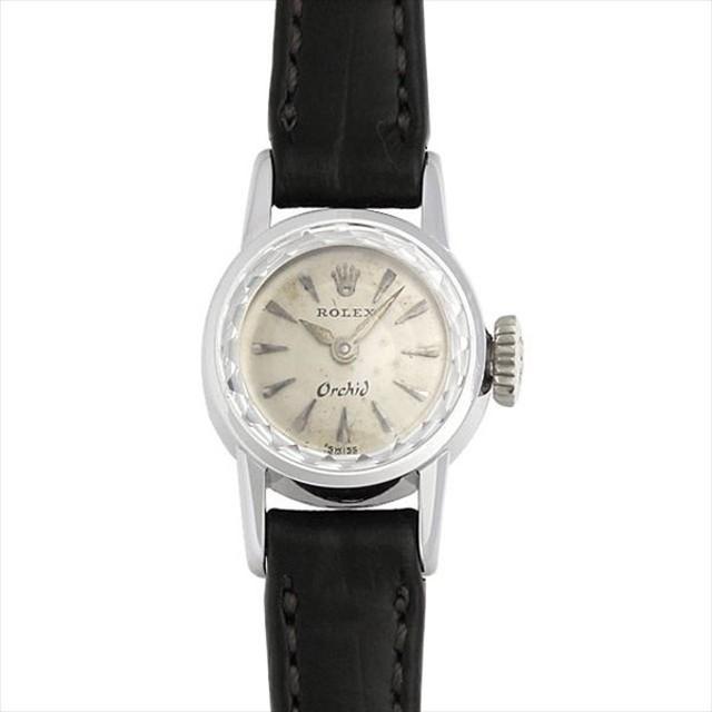 aceefab680 48回払いまで無金利 ロレックス オーキッド 73番 アンティーク レディース 腕時計