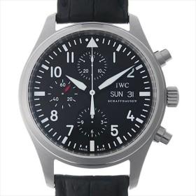 48回払いまで無金利 IWC パイロットウォッチ クロノグラフ IW371701(IW371704) 中古 メンズ 腕時計
