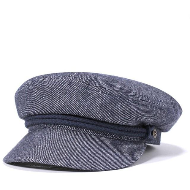 ブリクストン キャスケット 帽子 BRIXTON ネイビー [返品・交換対象外]