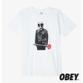 【OBEY/オベイ】SADISTIC FLORIST Tシャツ / WHITE