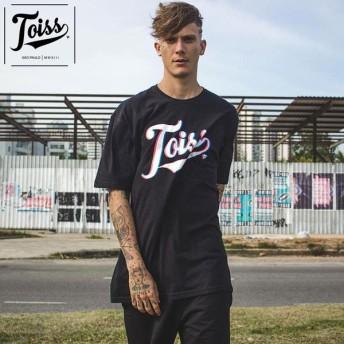 【TOISS】オリジナルロゴTシャツRGB【ネイマール愛用ブランド】 | ブラック