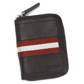 e735b0f0df73 バリー BALLY 小銭入れ コインケース TRAINSPOTTING TEBIOT COIN PURSE CHOCOLATE RED/WHITE BR