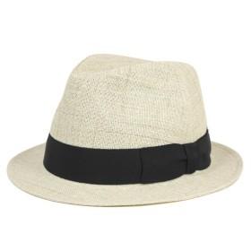 フェヌア ストローハット 帽子 中折れ FENUA