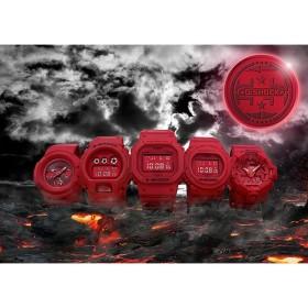 5本セット 定価販売 カシオ CASIO G-SHOCK 誕生35周年記念モデル RED OUT レッドアウト 男気フルセット Gショック 限定 国内正規品 新品