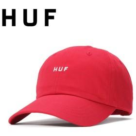 ハフ キャップ 帽子 OG LOGO リゾートレッド