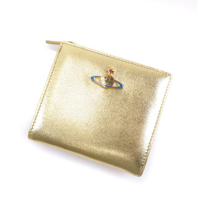 a8f184a4ddfd Vivienne Westwood【ヴィヴィアン・ウエストウッド】 オーブ 1424VX 二つ折り財布(小銭入れ