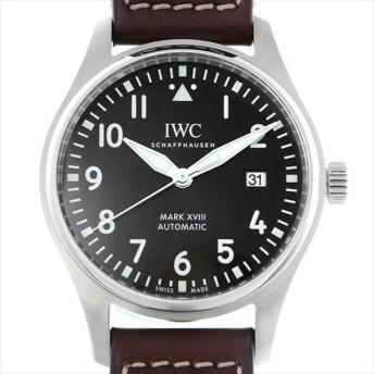 48回払いまで無金利 IWC パイロットウォッチ マーク18 アントワーヌ・ド・サンテグジュペリ IW327003 新品 メンズ 腕時計