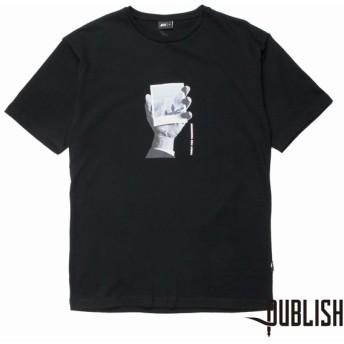【PUBLISH BRAND/パブリッシュブランド】PUBLISH POLAROID Tシャツ / BLACK