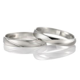 結婚指輪 マリッジリング ペアリング プラチナ つや消し つや有り コンビ シンプル 人気 et toi エトワ 【2本セット】 セール