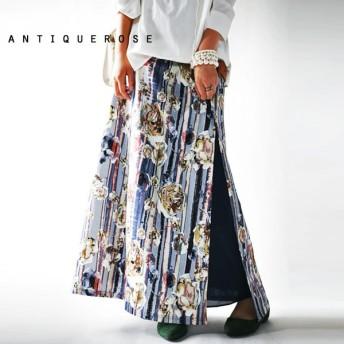 愛されファッションを手に入れる。花柄ロングスカート・サイドスリットで上品なオトナの華やかさを』相性抜群なマストハブ。メール便不可