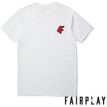 【FAIRPLAY BRAND/フェアプレイブランド】ROSES SS Tシャツ / WHITE