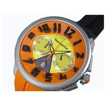 テンデンス TENDENCE CRAZY Chrono クレイジー クロノ 腕時計 T0460409