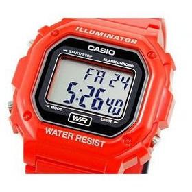 カシオ CASIO スタンダード デジタルクォーツ 腕時計 F108WHC-4A