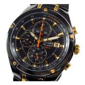 オリエント ORIENT 腕時計 アラームクロノ メンズ FTD0P006B0