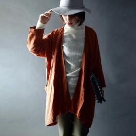 美しいドレープと光沢感。テンセルotona羽織り・『シルクのようなテンセル100%の上質な生地を仕立てて。』##メール便不可