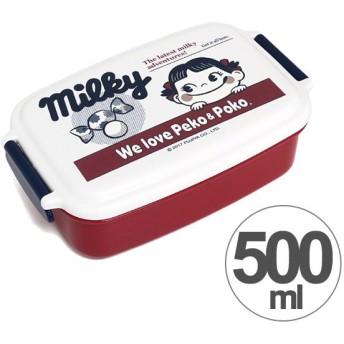 お弁当箱 角型 ペコちゃん ミルキーペコ 500ml 子供用 キャラクター 日本製 ( 弁当箱 ランチボックス 食洗機対応 ) 新商品 08