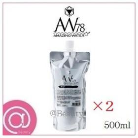 (×2セット)AW78 アメイジングウォーター プロフェッショナル 500ml レフィル 詰替用