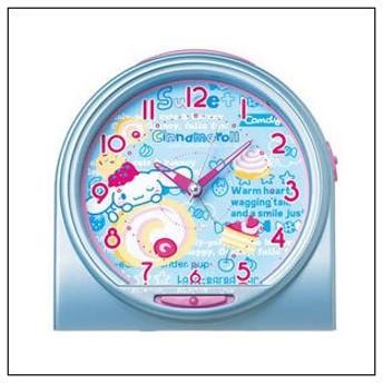 【送料無料】SEIKO セイコー クロック CQ135L 目覚まし時計 シナモロール