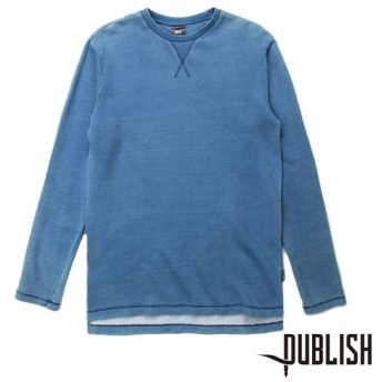 【PUBLISH BRAND/パブリッシュブランド】INDEX STEVE ロングTシャツ / LT. INDIGO