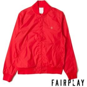 【FAIRPLAY BRAND/フェアプレイブランド】MESH MAVERICK アウタージャケット / RED