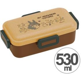 お弁当箱 となりのトトロ ウッド風 ふわっと弁当箱 530ml ( 食洗機対応 弁当箱 ランチボックス )