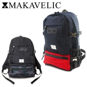 マキャベリック MAKAVELIC リュック 3106-10101 TRUCKS RAINPROOF BACKPACK MEDIUM トラックス バックパック リュックサック デイパック [PO10]