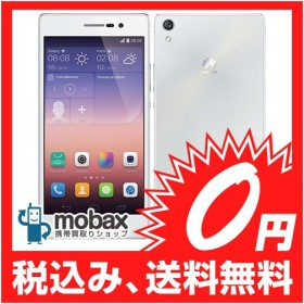 キャンペーン◆【新品未開封品(未使用)】Huawei  Ascend P7 SIMフリー [ホワイト]白ロム