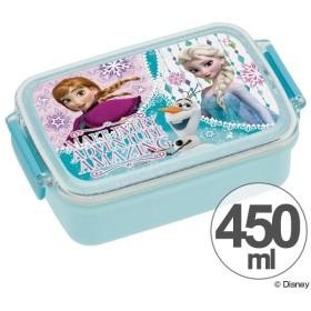 お弁当箱 角型 アナと雪の女王 Elsa&Anna 450ml 子供用 キャラクター ( タイトランチボックス 食洗機対応 弁当箱 )