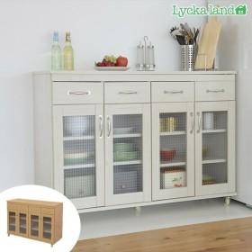 ■在庫限り・入荷なし■キャビネット キッチンカウンター 北欧風 Lycka land