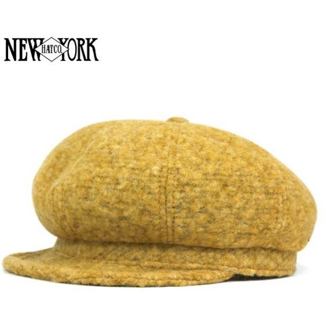 ニューヨークハット キャスケット 当店別注 ニット スピット ファイア ゴールドファズ 帽子