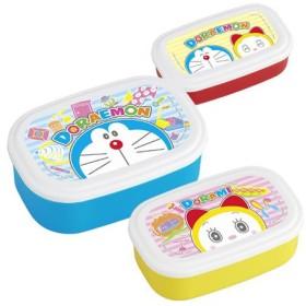 お弁当箱 シール容器 ドラえもん 3個入 子供用 キャラクター ( 弁当箱 ランチボックス 保存容器 )