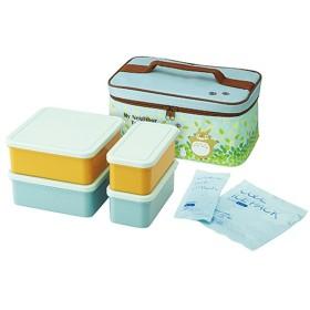 ■在庫限り・入荷なし■ピクニックランチボックス お弁当箱 となりのトトロ そらいろ 保冷バッグ付 行楽ランチセット