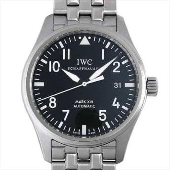 48回払いまで無金利 IWC マーク16 マークXVI IW325504 中古 メンズ 腕時計 キャッシュレス5%還元
