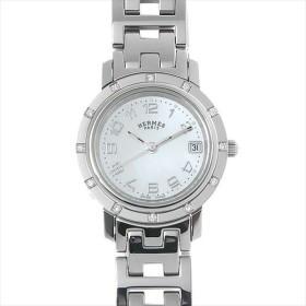 48回払いまで無金利 エルメス クリッパー ナクレ CL4.230 中古 レディース 腕時計