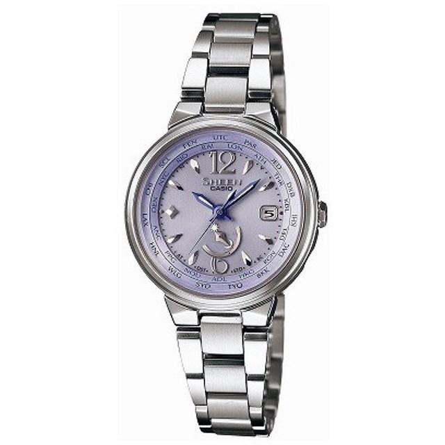 ecb7d5168b カシオ CASIO 腕時計 SHEEN シーン 世界6局電波ソーラーウォッチ SHW-1507D-6AJF